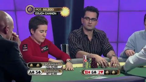 The Big Game 2 - Huggins vs Esfandiari (Couch Cannon)