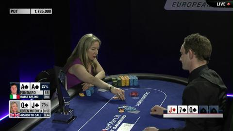 EPT10 Sanremo: Final Table Highlights Victoria Coren Makes History