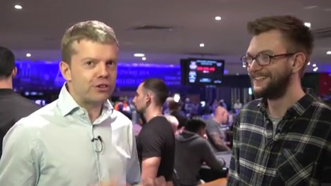 UKIPT4 Nottingham: Jamie Sykes on trying to be the table captain