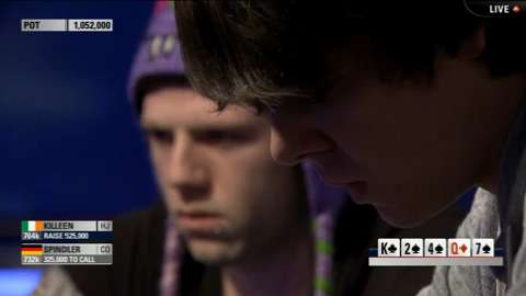 EPT11 London Key Hand: Benny Spindler vs. Kevin Killeen - Day 4