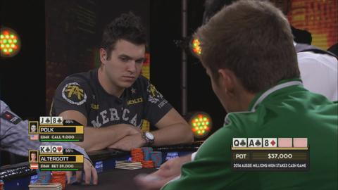Aussie Millions 2014 - High Stakes Cash Game, Episode 1