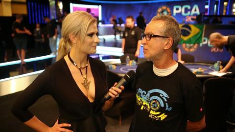 PCA 2015: Eugenio Mattar Doesn't Mind Taking Ronaldo's Chips!