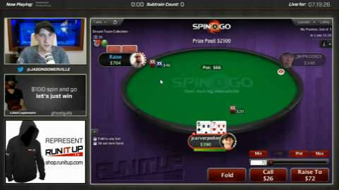 PokerStars Twitch - Jason Somerville Spin & Go Madness