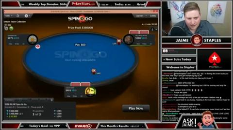 PokerStars Twitch - $360,000 Spin & Go!