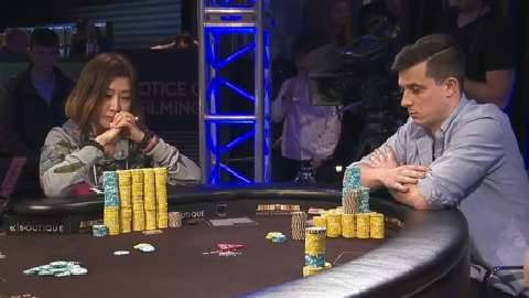KK vs AK vs AQ in a Crazy Poker Hand