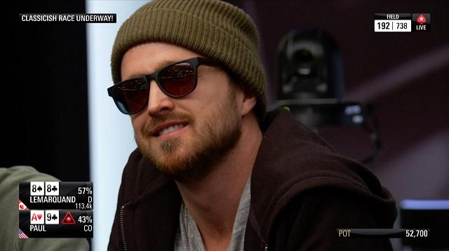 Aaron Paul Runs Good - PokerStars Championship Bahamas