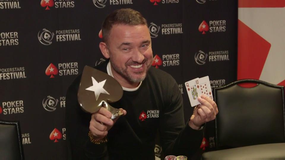 Stephen Hendry wins Media Event at PokerStars Festival London