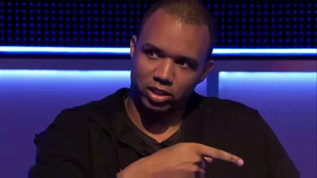 Phil Ivey doesn't recognise Jonathan Duhamel at €100k High Roller TV table