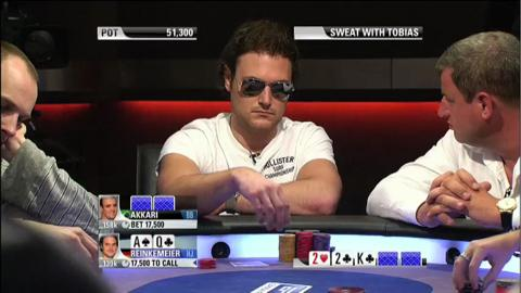 EPT 8 Barcelona - Sweat With Tobias Reinkemeier