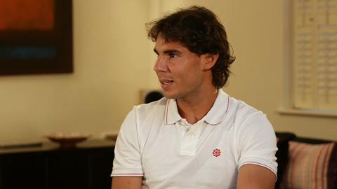 Rafa Nadal Speaks to Team PokerStars Pro Victoria Coren
