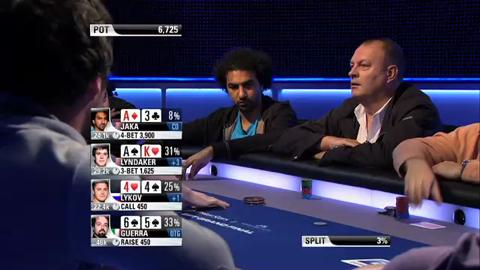 EPT 8 - Grand Final, Main Event, Episode 1