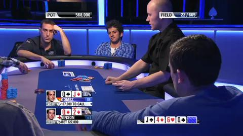 EPT 8 - Grand Final Main Event, Episode 7
