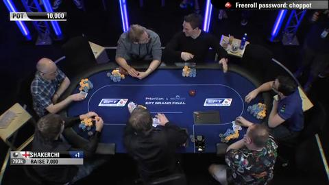 EPT9 Monaco - Main Event Day 5 - Part 4 (ft. David Yan)