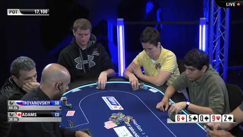 EPT9 Monaco - Main Event Day 4 - Part 1 (ft. Rick Dacey & David Williams)