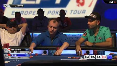 EPT9 Monaco - Main Event Day 4 - Part 2 (ft. Neil Johnson)