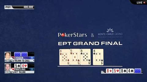 EPT9 Monaco - Main Event Final Table - Part 3 (ft. Daniel Negreanu)