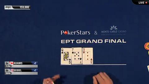 EPT9 Monaco - Super High Roller Day 2 - Part 5 (ft. Ike Haxton)