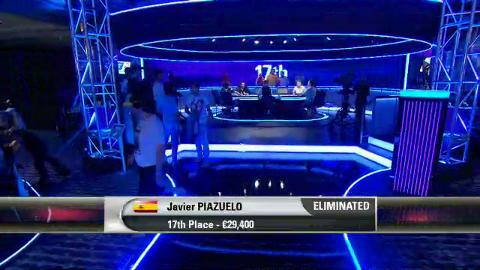 EPT9 Barcelona - Main Event, Episode 8