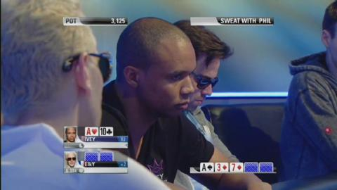 Sweat with Phil Ivey against ElkY - PCA 2013