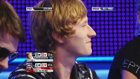 EPT9 Barcelona - Main Event, Episode 6