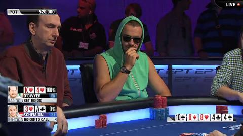 EPT 10 Barcelona - Super High Roller Final Table – Part 1 (ft. Christophe De Meulder)