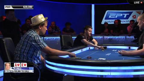 EPT 10 Barcelona – Main Event Final Table – Part 5 (ft. Lee Jones)