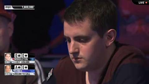 EPT 10 Barcelona – Main Event Final Table – Part 3 (ft. Jason Mercier)