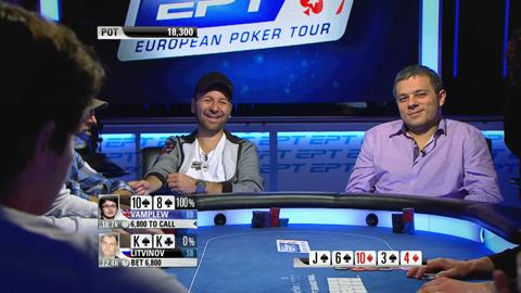 EPT9 Monte Carlo - Main Event, Episode 3