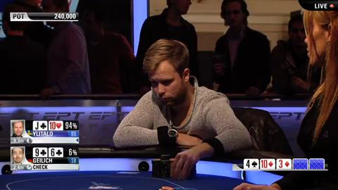 EPT 10 London – Main Event Final Table – Part 4 (ft. Fatima Moreira de Melo)
