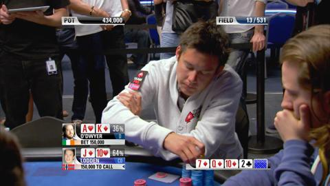 EPT9 Monte Carlo - Main Event, Episode 7