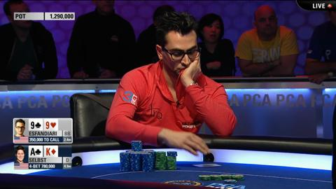 PCA 2014 - Super High Roller, Final Table Highlights