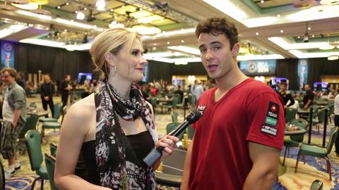 PCA 2014:  Marc-Andre Ladouceur Near Top of Chip Counts
