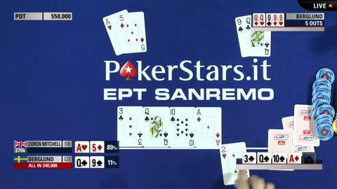 EPT10 Sanremo: Day 5 Highlights Coren close to record breaking double