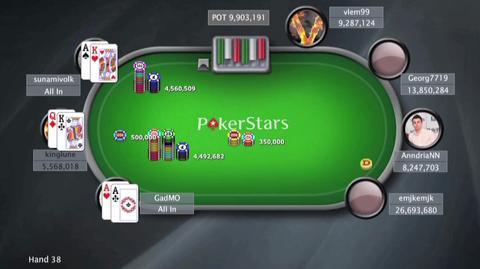 Sunday Million, 27th April 2014