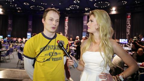 EPT10 Grand Final: Ville Wahlbeck Isn't Bored, He Just Looks Like it