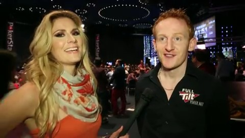 EPT10 Grand Final:  Full Tilt Poker Ambassador Dermot Blain €5k NL tourney for €200,900