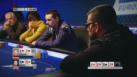 EPT10 London - Main Event, Episode 7