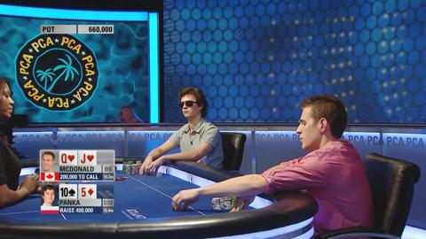 Mike McDonald vs. Dominik Panka Heads Up: The Bonus Cut