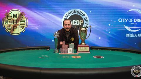 2014 ACOP: Super High Roller winner Steve O'Dwyer