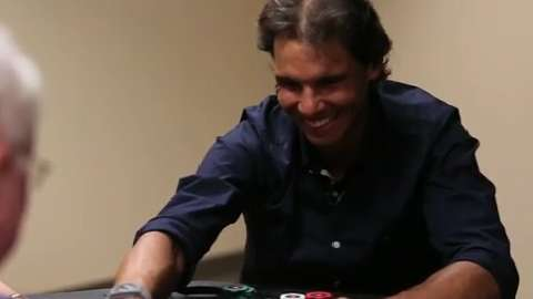 Playing Poker & Talking Tennis with Rafa Nadal