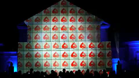 PokerStars 3D Projection Mapping,  Isle Of Man September 2015