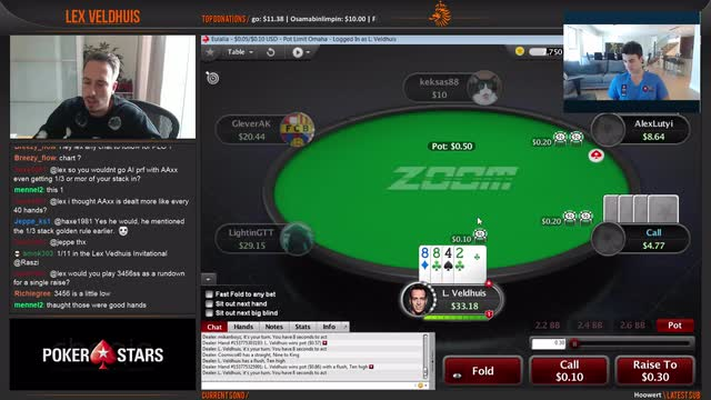 Omaha Week - What is a good PLO starting hand?