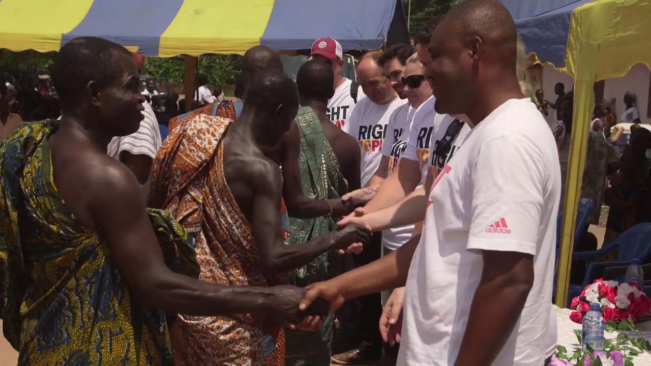 PokerStars and Right To Play visit Ghana